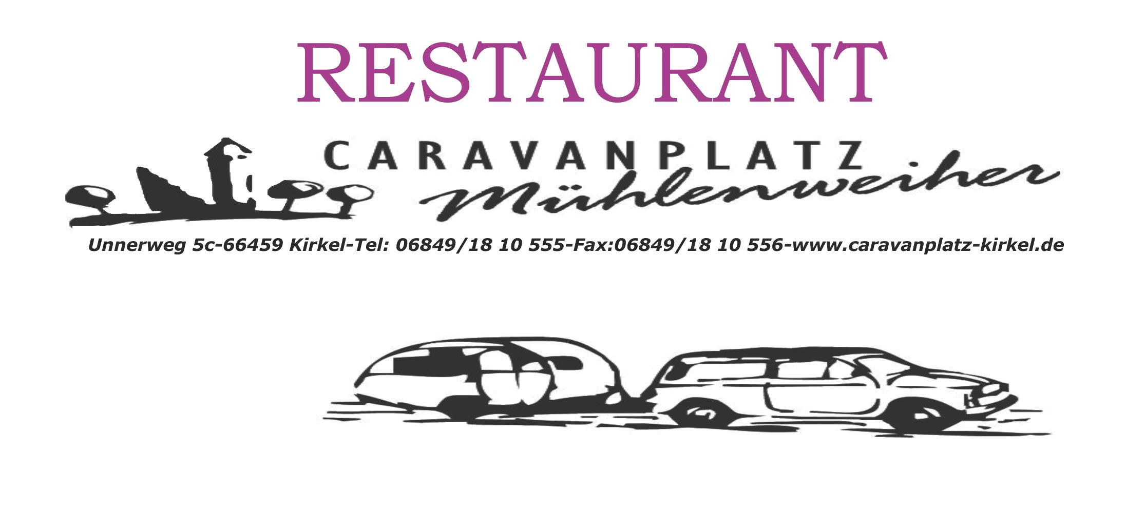 Restaurant Caravanplatz Mühlenweiher
